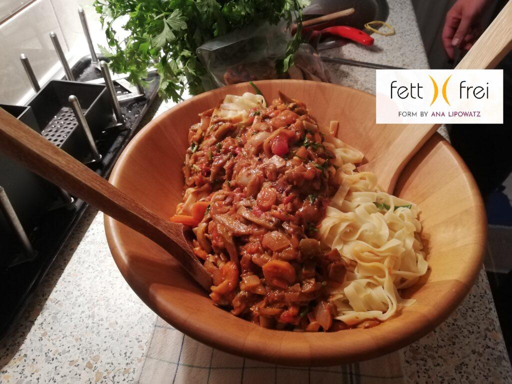 Da li špagete goje Ne, od njih se čak mršavi   Fett Frei